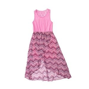 Extremely me! Pink Geometrical Print Dress 10/12